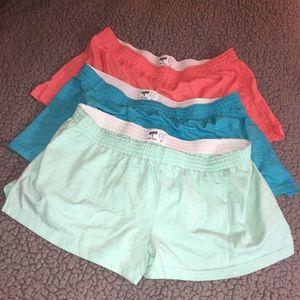 3 Piece Bundle Soffe Shorts